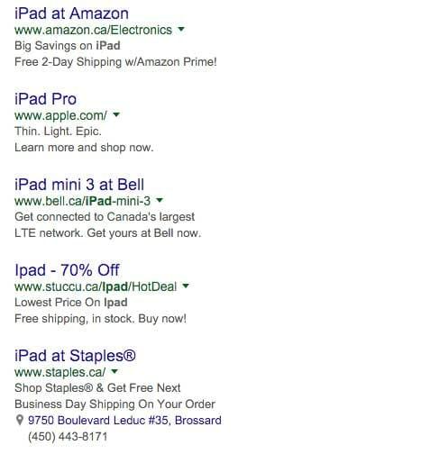 CTR در گوگل ادوردز