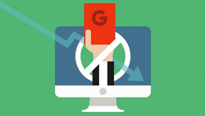 پنالتی شدن در گوگل - علت پنالتی شدن در گوگل چیست؟