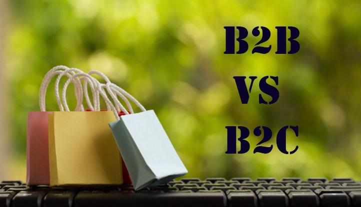 بازاریابی B2B و B2C چیست ؟