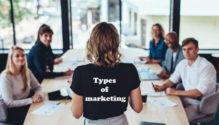 معرفی انواع بازاریابی