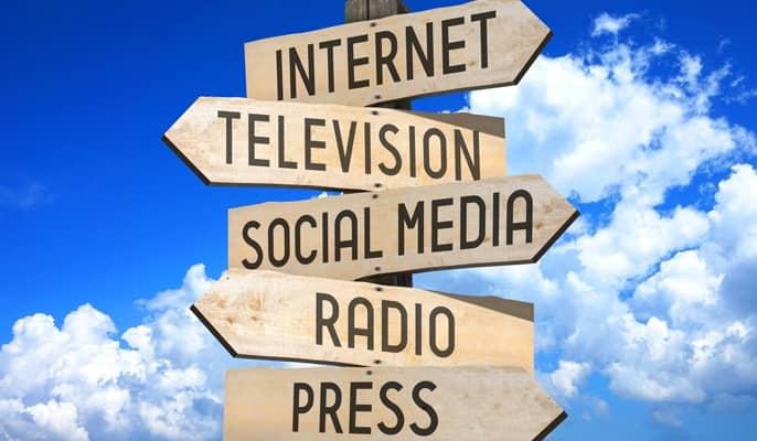 رسانه - رسانههای اطراف ما کدامند؟