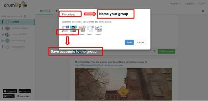 حساب کاربری شبکه اجتماعی
