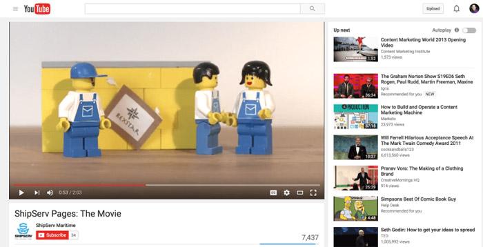 اشتباه بازاریابان محتوا - سایت یوتیوب
