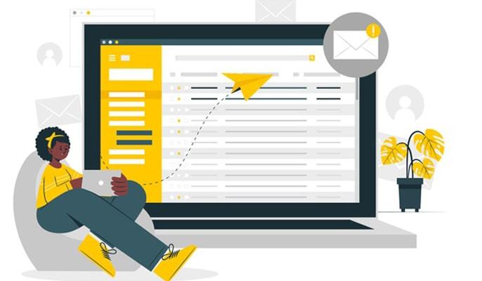 بازاریابی تجارت الکترونیک - بازاریابی مبتنی بر ایمیل
