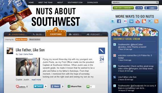 برند سازی - وبلاگ شرکت Southwest