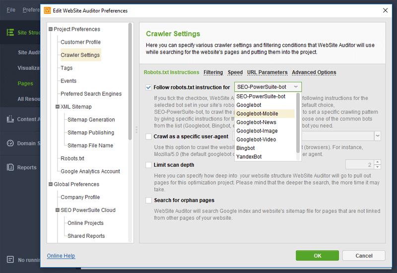 روش سئو - WebSite Auditor
