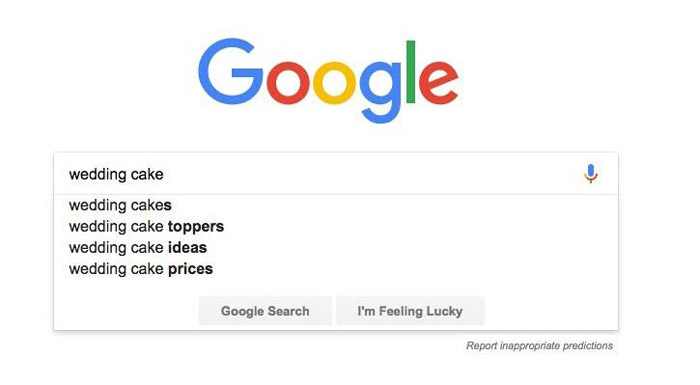 جستجوی کلمه کلیدی - جستجوی گوگل