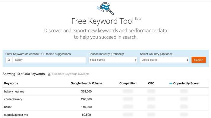 جستجوی کلمه کلیدی - ابزار رایگان جستجوی کلمه کلیدی WordStream