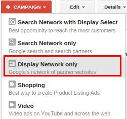 تبلیغات یوتیوب - Display network only