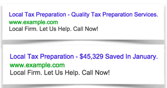 متن تبلیغات گوگل ادز
