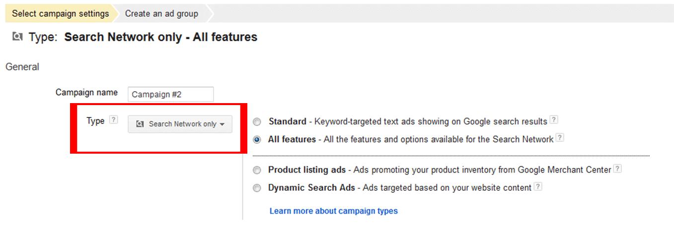 کمپین در گوگل ادز - جستجو در مقابل نمایش