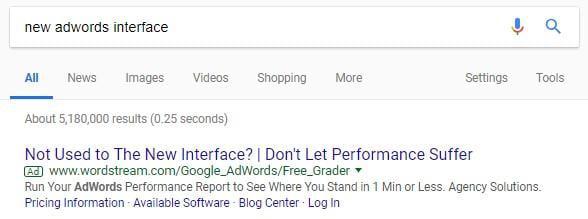 کارزار تبلیغات در گوگل ادز