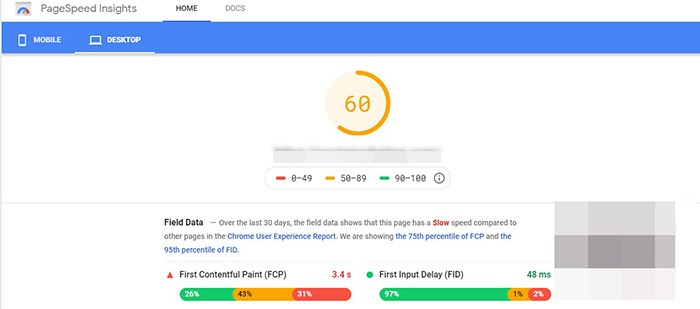 سرعت گوگل سرچ کنسول