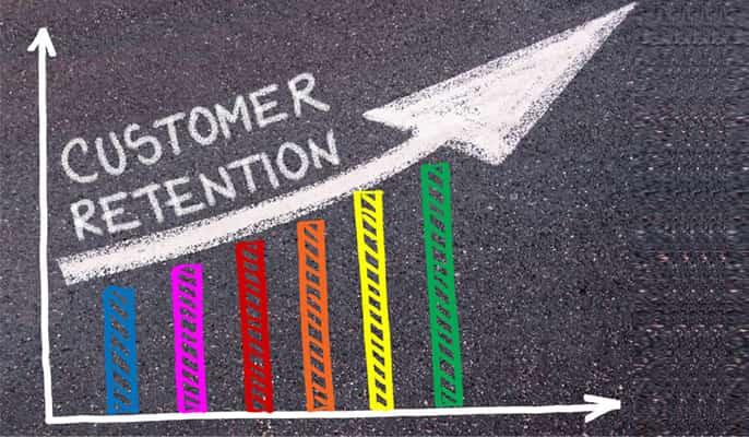 حفظ مشتری - نتایج را به طور مرتب ارائه کنید