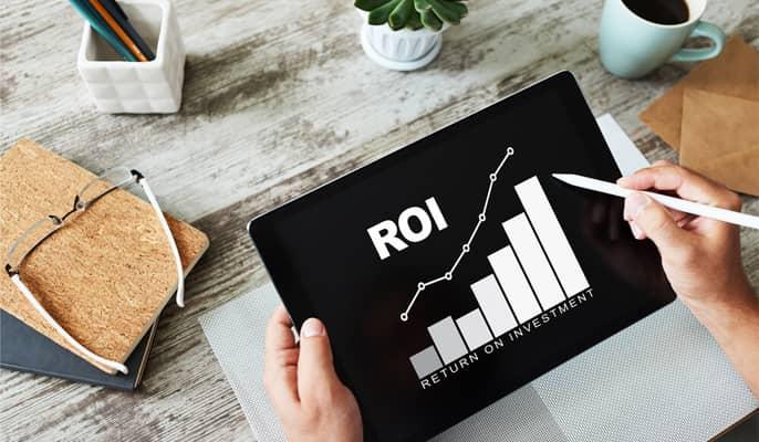 معیارهای شبکه های اجتماعی - دادههای نرخ بازگشت سرمایه (ROI)