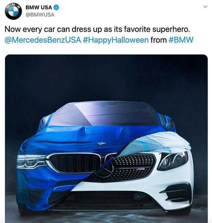 تبلیغات مقایسه ای - BMW در مقایسه با مرسدس بنز