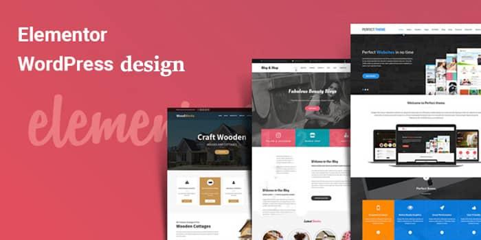 طراحی سایت با المنتور