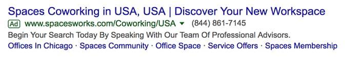 راهنمای گوگل ادز - تبلیغات گسترش یافته با شماره تلفن