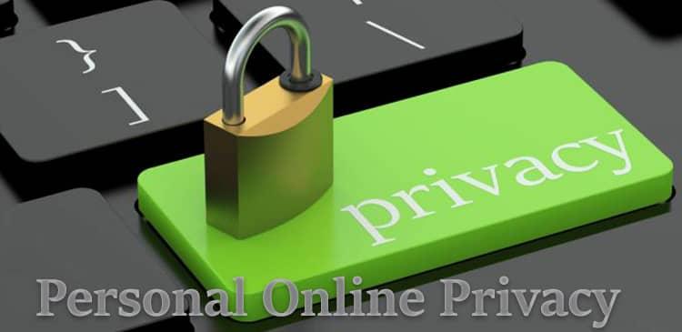 حریم خصوصی آنلاین شخصی و حریم خصوصی دادهها و مرورگر