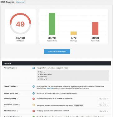 ابزار تجزیه و تحلیل SEO مبتنی بر 40 عامل