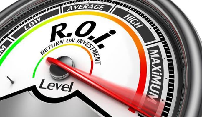تبلیغات گوگل برای کسب و کارها - نرخ بازگشت سرمایه بالا
