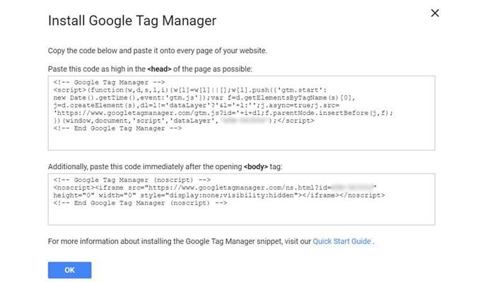 گوگل تگ منیجر چیست - اینستال کد گوگل تگ منیجر در وب سایت