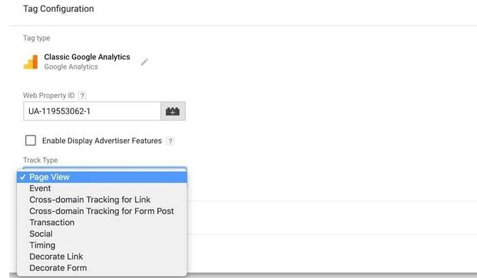 گوگل تگ منیجر چیست - تگ خود را به رهگیری گوگل آنالیتیکس پیوند دهید.
