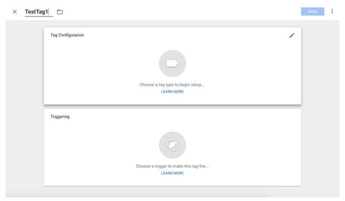 گوگل تگ منیجر چیست - تگ خود را پیکربندی کنید.
