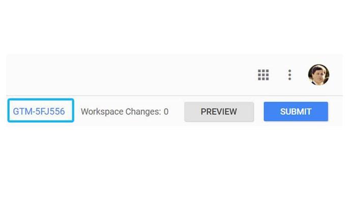 گوگل تگ منیجر چیست - کد مخصوص