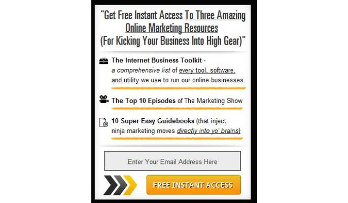 لیست ایمیل - یک نمونه از لید مگنت جذاب