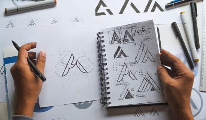 هویت بصری برند - طراحی لوگو