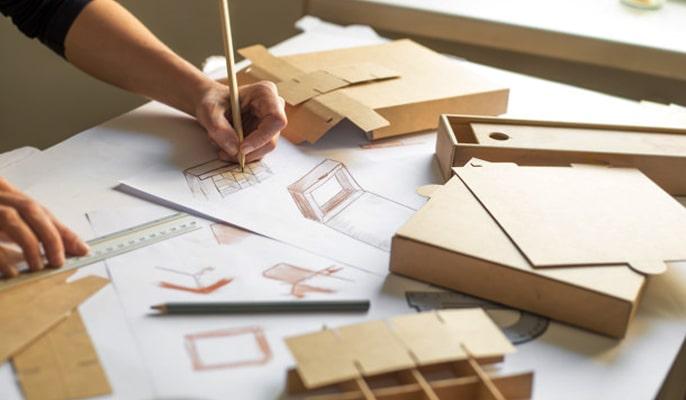 هویت بصری برند - طراحی بسته بندی ( ساک دستی، پاکت نامه، جعبه)