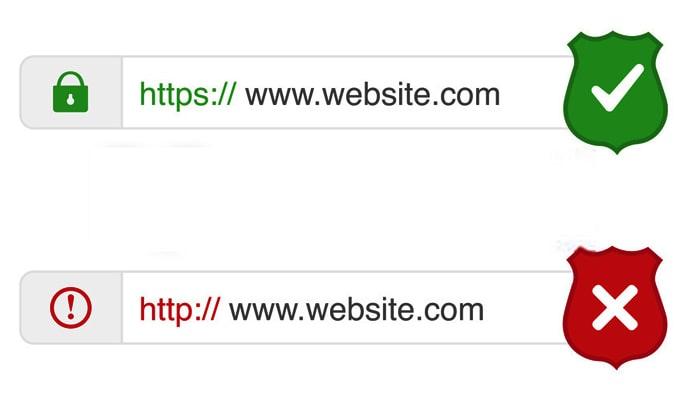 SSL چیست؟ - از کجا بفهمیم یک وبسایت دارای گواهی نامهی SSL است؟