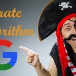الگوریتم دزد دریایی گوگل یا Pirate چیست؟